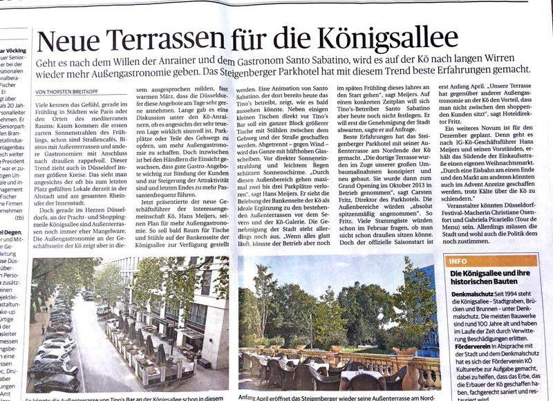 Terrasse Königsallee